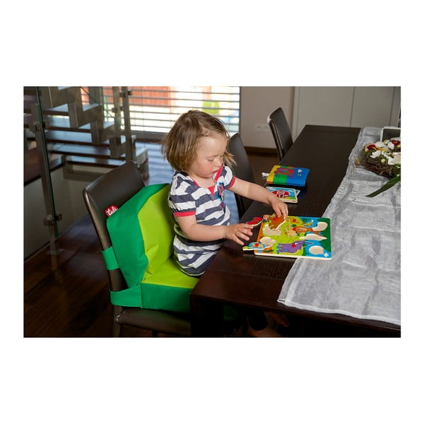Neonově zelený dětský podsedák Tuli ChildUp