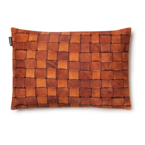Povlak na polštář Heather Leather 35x50 cm