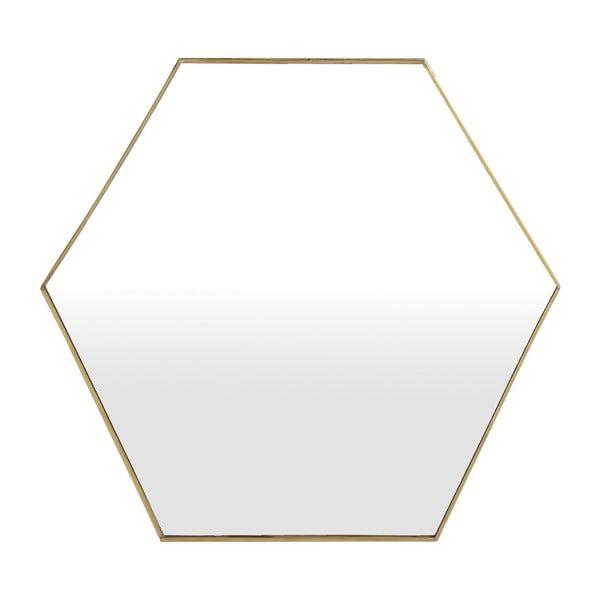 Geometrické zrcadlo A Simple Mess Liva,51x44cm