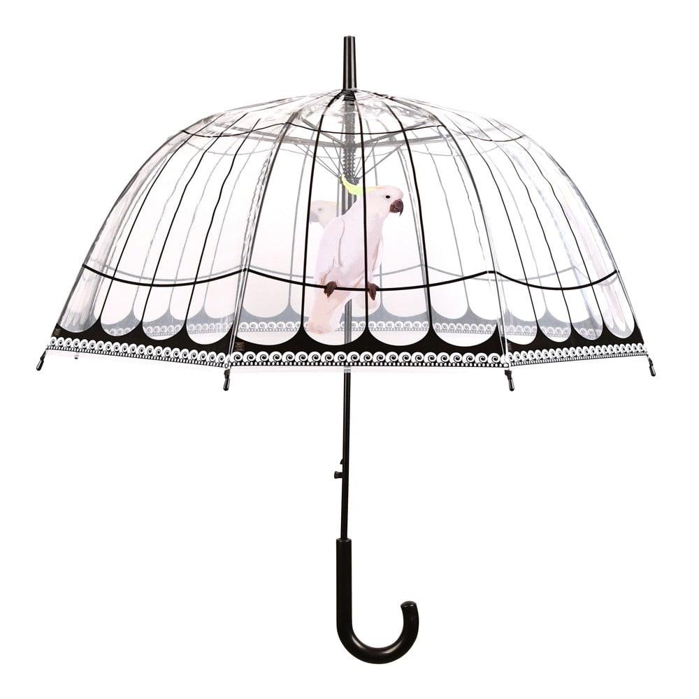 Transparentní deštník Esschert Design Birds