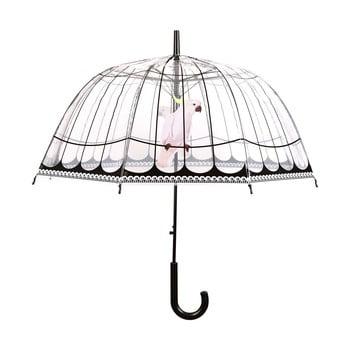 Umbrelă transparentă rezistentă la vânt Ambiance Birds, ⌀31cm imagine