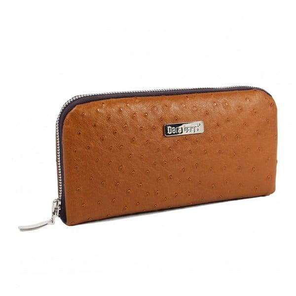 Musztardowy portfel Dara bags Wally No.15