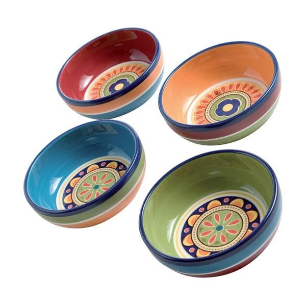 Set 4 boluri colorate Brandani, ⌀ 13 cm