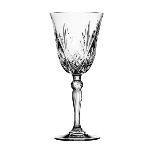 Set 4 sklenic na víno Melodia, 210 ml