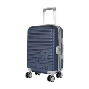 Tmavě modré kabinové zavazadlo na kolečkách Travel World Aiport