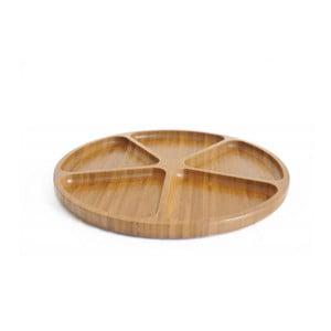 Bambusový servírovací tácek II