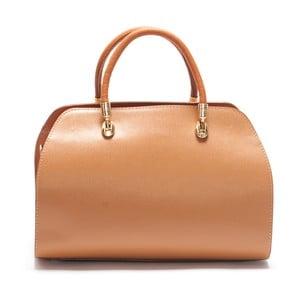 Kožená kabelka Mangotti 415, koňak