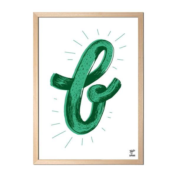 Plakát B od Karolíny Strykové