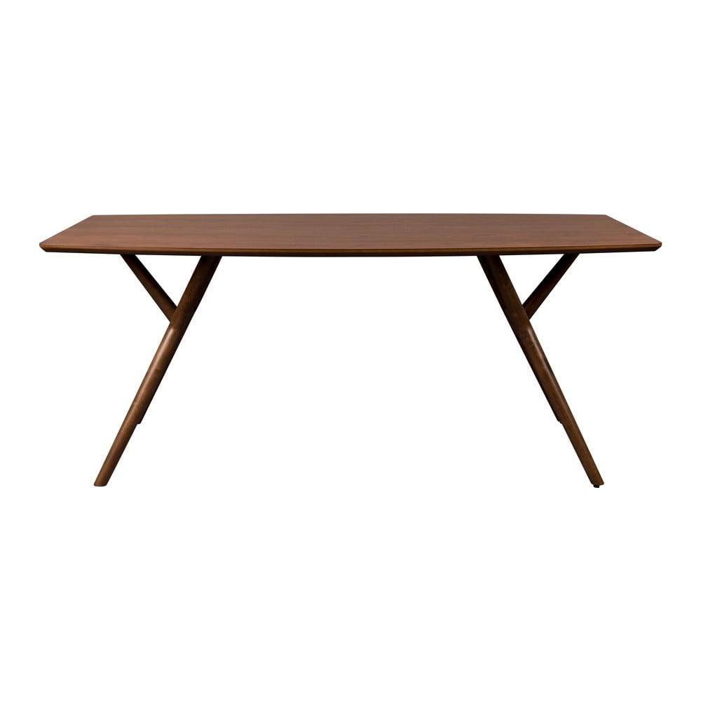 Hnědý jídelní stůl Dutchbone Malaya, délka 180 cm