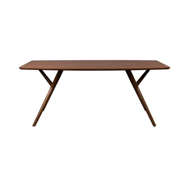 Hnedý jedálenský stôl Dutchbone Malaya, dĺžka 180 cm