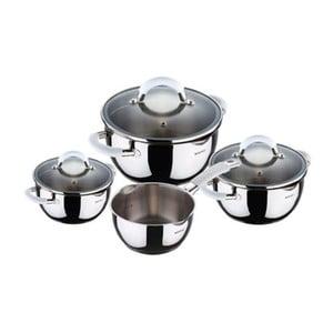 Set Cookware White, 7 ks