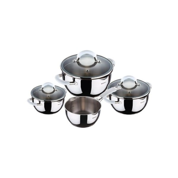 Set Cookware White, 7 ks