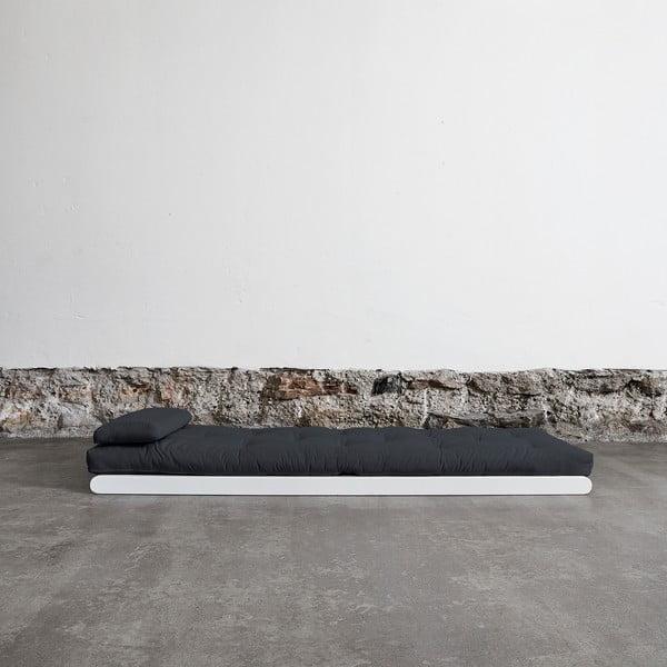 Lenoška Karup Figo White/Gray, 70 cm