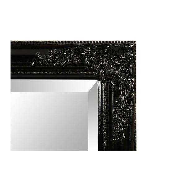 Nástěnné zrcadlo Miro Nero, 62x82 cm