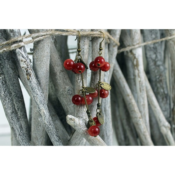 Náušnice Cherry Stone