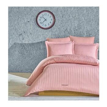 Lenjerie de pat cu cearşaf Vogue, 200 x 220 cm, roz pal de la Unknown