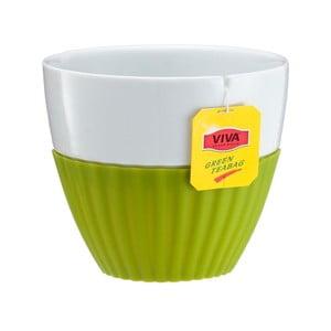 Hrnky na čaj Anytime, limetková, 2 ks