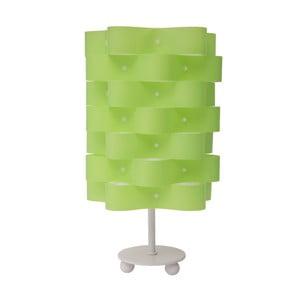Zelená stolní lampa Mauro Ferretti Rope