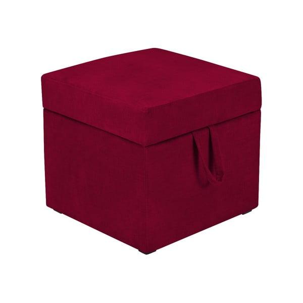 Cube piros zsámoly tárolóhellyel - KICOTI