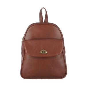 Kožený batoh Eliza Cognac Small