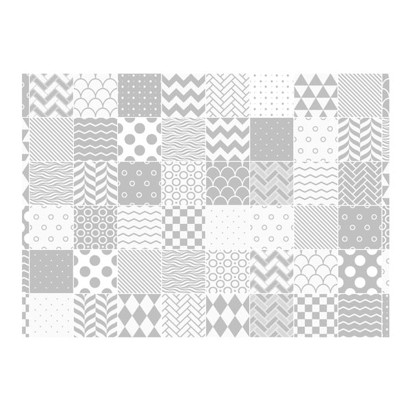Set 60 autocolante Ambiance Cardiff, 15 x 15 cm