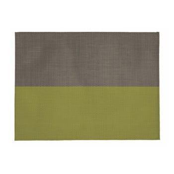 Suport pentru farfurie Tiseco Home Studio Stripe, 33x45cm, bej - verde