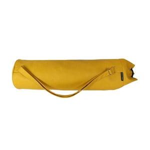 Žlutý obal na podložku na jógu Yogaly Balú