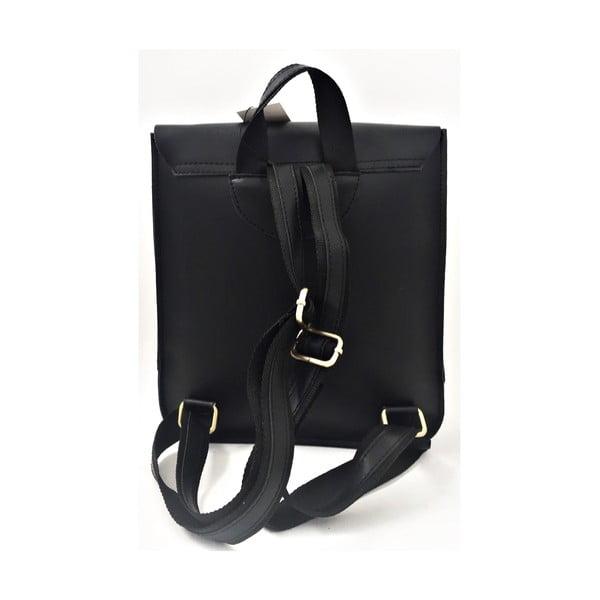 Kožený batoh Toto Black