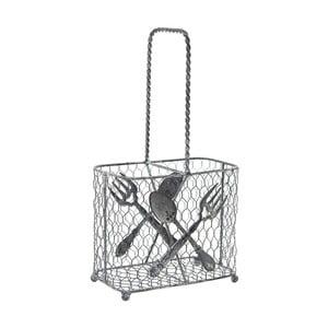 Drátěný košík na příbory Ego Dekor