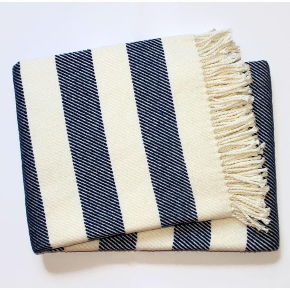 Kobaltově modrá deka Euromant Candy, 140 x 180 cm