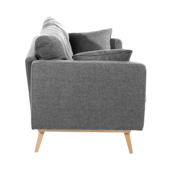 Canapea cu 2 locuri Max Winzer Tomme, gri