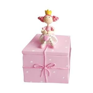 Růžový ozdobný box na drobnosti Cofanetto