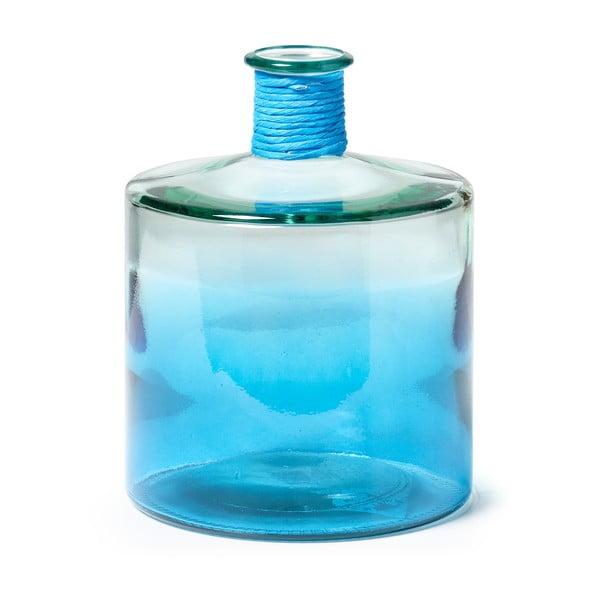 Modrá skleněná váza La Forma Sinclair