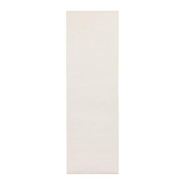 Biały chodnik BT Carpet Nature, 80x150 cm