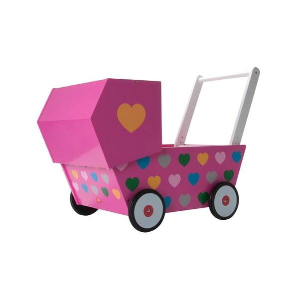 Dětský kočárek Baby Pink