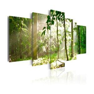 Vícedílný obraz na plátně Artgeist Sunbeam, 100x50cm