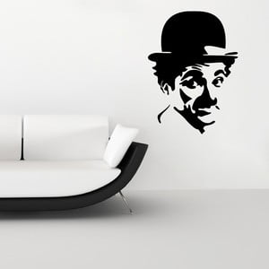 Samolepka Charlie Chaplin Portrait