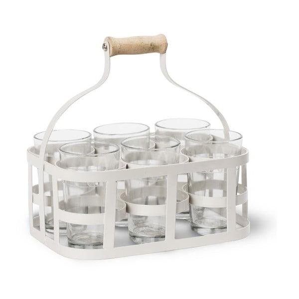 Přepravka se 6 sklenicemi Glass Carrier