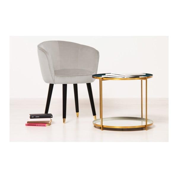 Sada 2 béžových židlí Vivonita Valerie