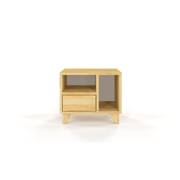 Noční stolek z masivního borovicového dřeva SKANDICA Viveca