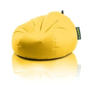 Sedací vak Želva, žlutý