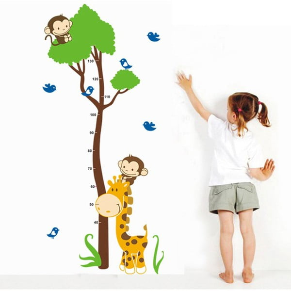 Dekorativní samolepka Meter Animals, 150x75 cm