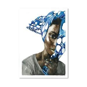 Plakát African Pride I, 30x42 cm
