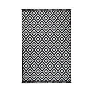 Černo-bílý oboustranný koberec Helen, 160 x 250 cm