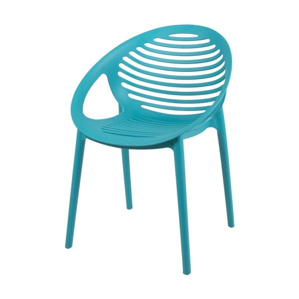 Tyrkysová židle Canett Elements