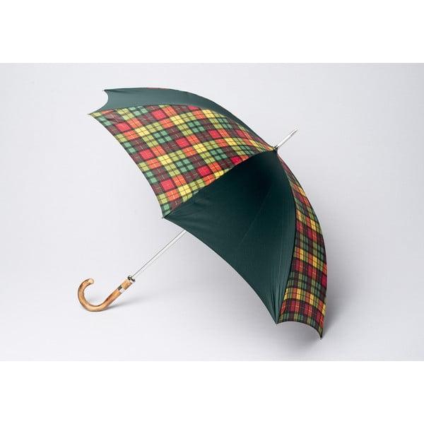 Deštník Tartan, multi zelený