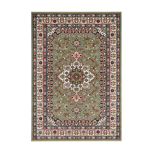 Zielony dywan Nouristan Parun Tabriz, 120x170 cm