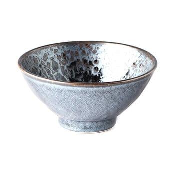 Bol din ceramică MIJ Pearl, ø 16 cm, negru - gri