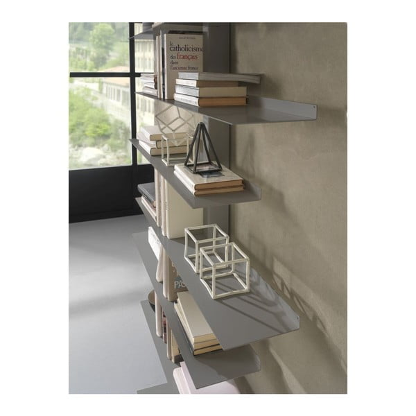 Knihovna Apollo Grey