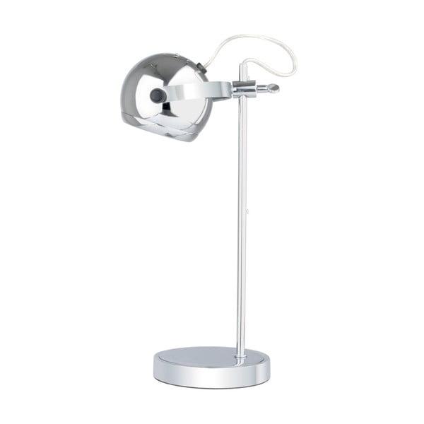 Retro stolní lampa, chrom